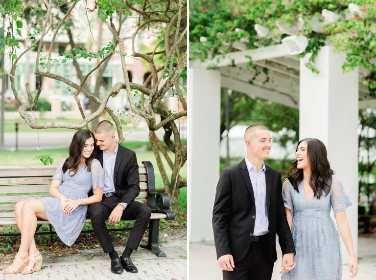 Downtown St. Pete Engagement | Jordan and Cody | © Ailyn La Torre  Photography 2017